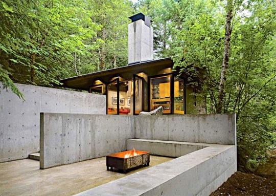 River Cabin In Washington