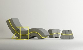 Flexible Curve Frame Sofa By Cho Hyung Suk Design