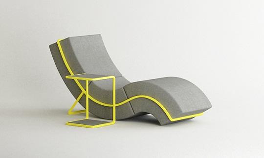 Curve Frame Sofa