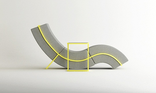 Curve Sofa By Cho Hyung Suk