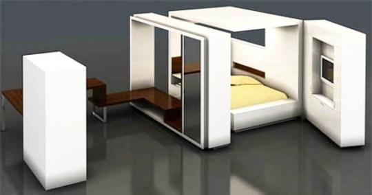 Multi Functional Bedroom Design For Modern Living