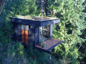 Green Cube Home Office Of Peter Frazier