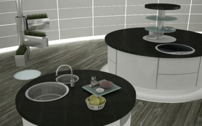 Hideaway Future Kitchen Concept By Magda Masalska And Marta Pala