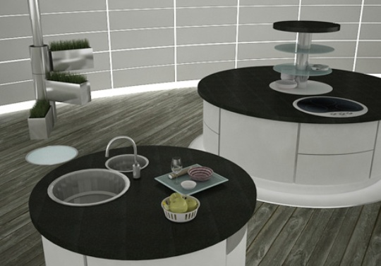 Hideaway Future Kitchen Concept By Magda Masalska And