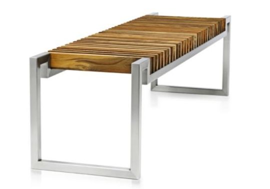 Stylish And EcoFriendly Furniture Hover Bench