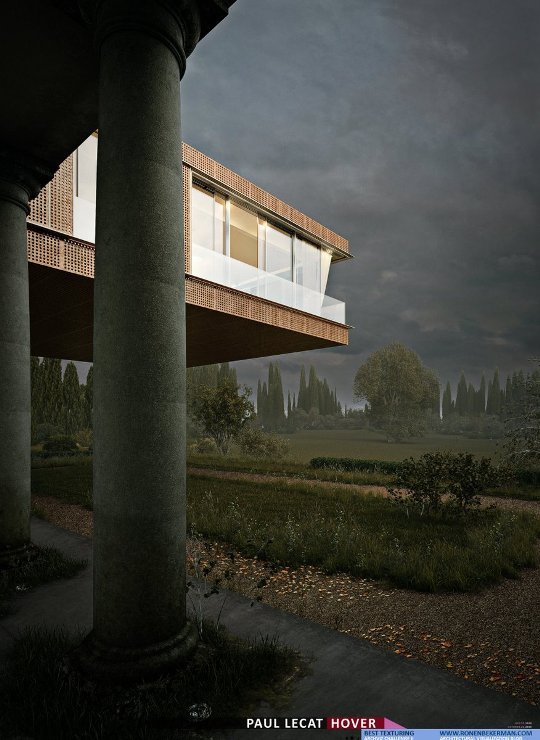 Winners of the hover architectural visualization challenge held by ronen bekerman