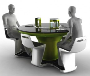 All-In-One Futuristic Compact Kitchen By Petr Kubik