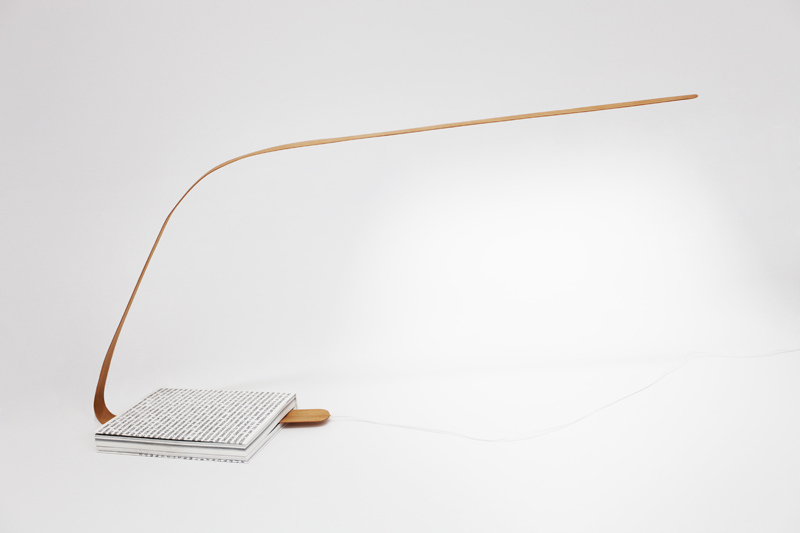 Bookmark Reading Lamp by Leonard Kadid 2