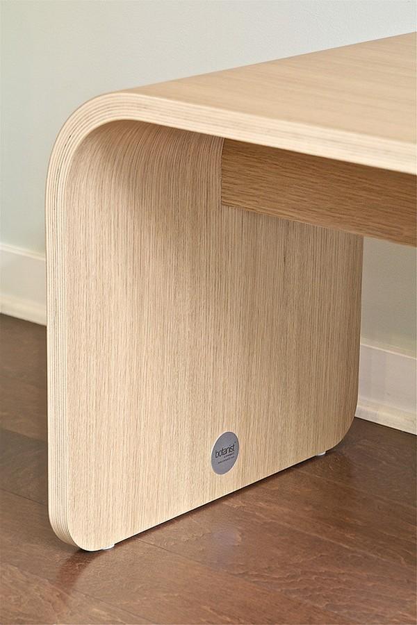 Botanist All Wood Bench by Dario Antonioni 4