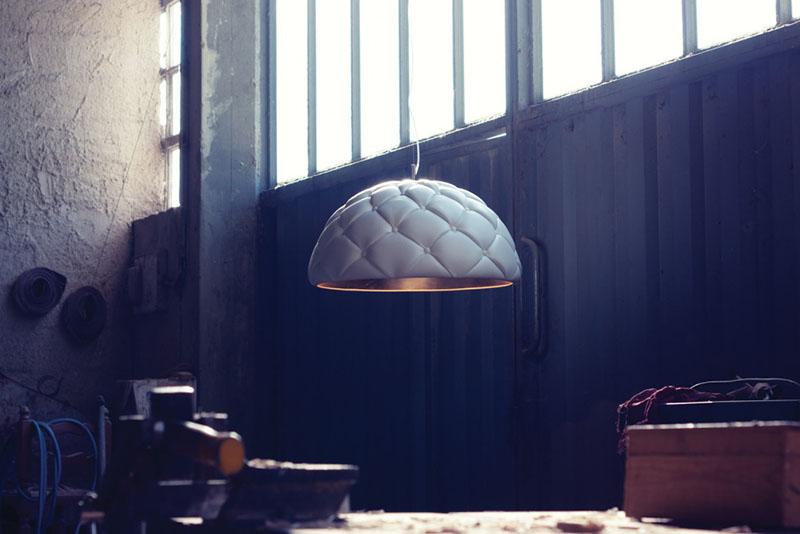 Clamp suspension lamp by DZ Studio 3