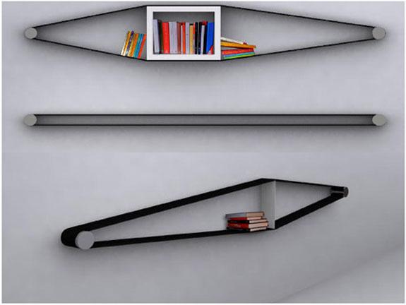 Elastico Bookcase by Arianna Vivenzio 2