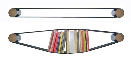 Elastico Bookcase by Arianna Vivenzio 3