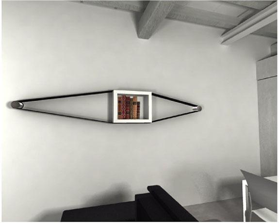 Elastico Bookcase by Arianna Vivenzio 4