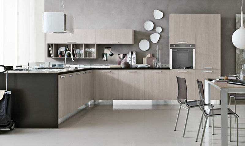 Modular kitchen design milly by stosa - Cucine stosa milly ...