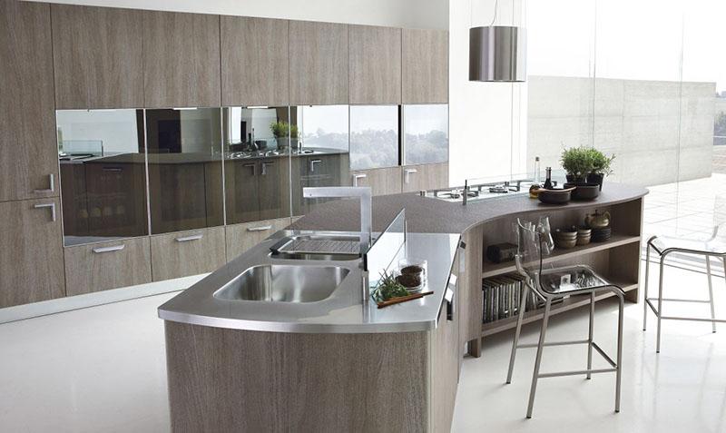 Milly modular kitchen by Stosa Cucine 2