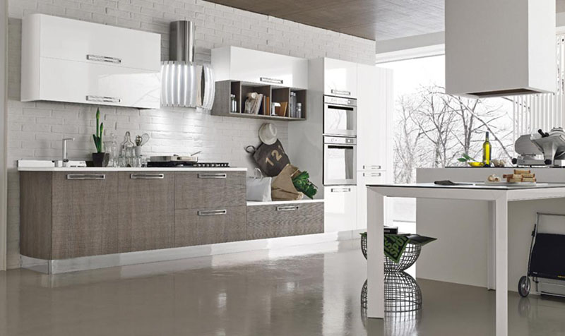 Marvelous Milly Modular Kitchen By Stosa Cucine 7 Nice Design