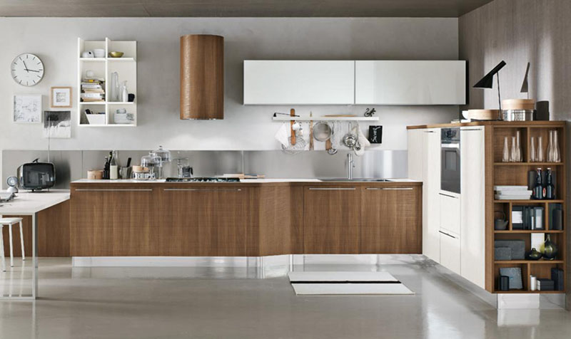 Milly modular kitchen by Stosa Cucine 9