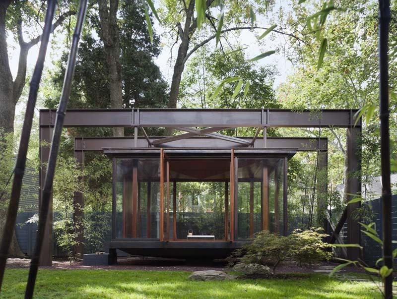 Japanese Style Tea house by David Jameson Architect 2