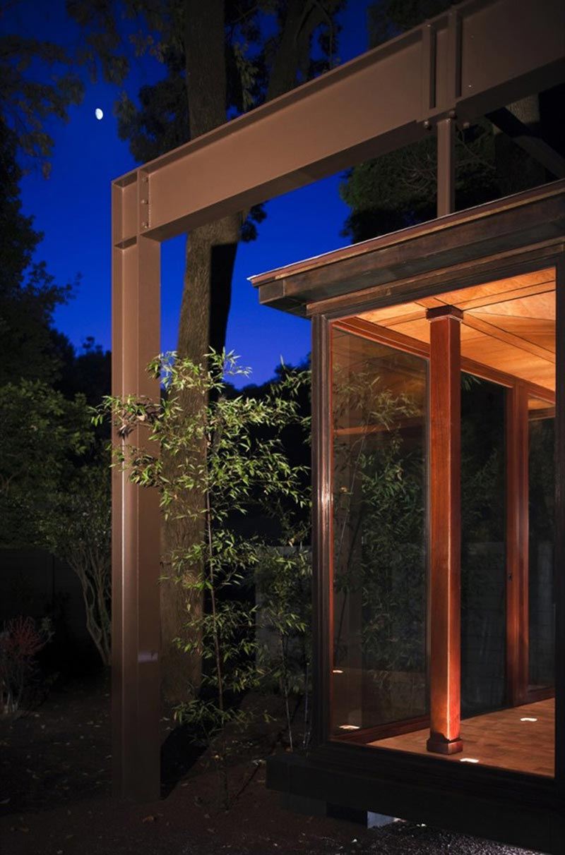 Japanese Style Tea house by David Jameson Architect 7