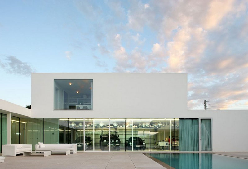Villa V in T by Beel & Achtergael Architects 11