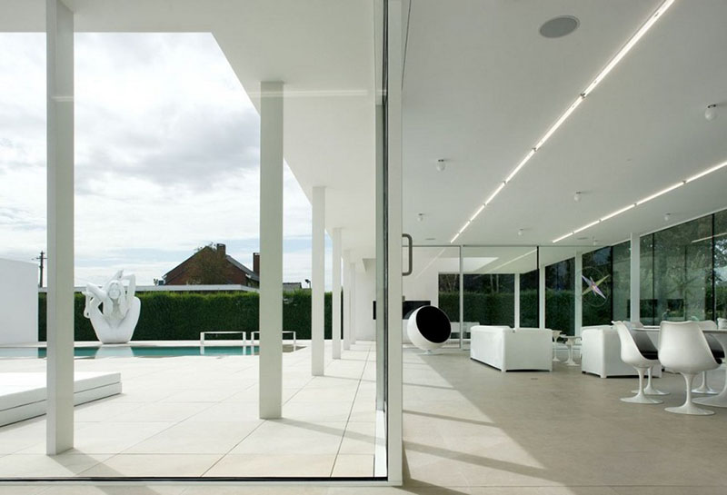 Villa V in T by Beel & Achtergael Architects 12