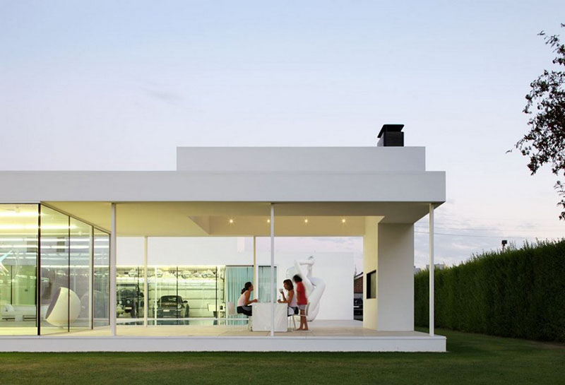 Villa V in T by Beel & Achtergael Architects 2
