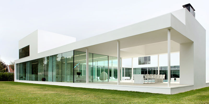 Villa V in T by Beel & Achtergael Architects 3