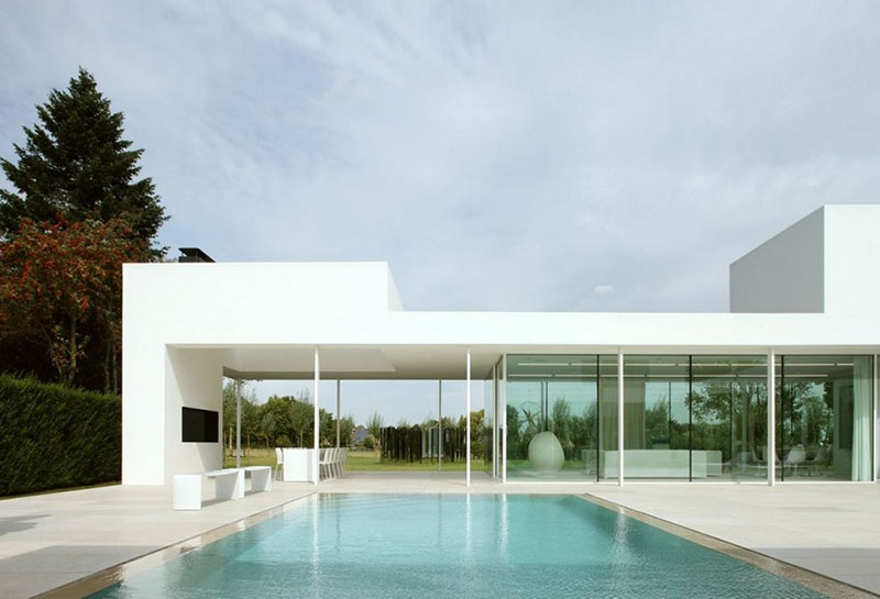 Villa V in T by Beel & Achtergael Architects 7