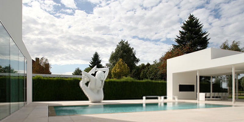 Villa V in T by Beel & Achtergael Architects 9