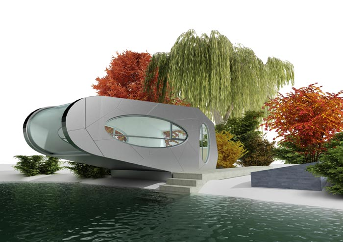Water Lily concept rendering 4