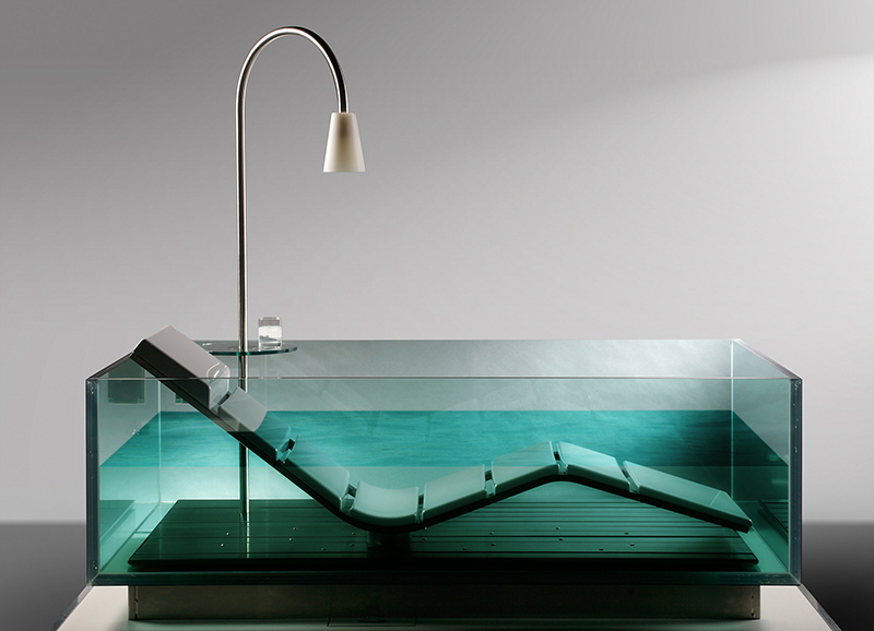 Water lounge by hoesch for Bathroom chaise lounge