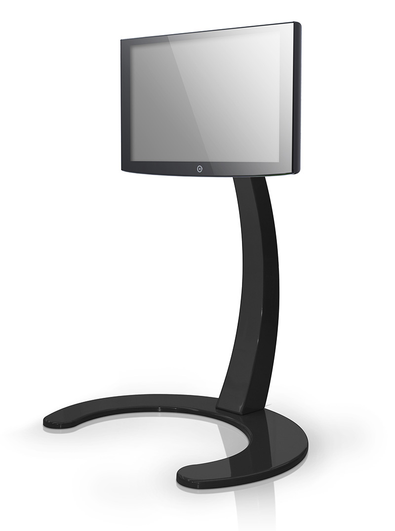 Xelo LCD TV Stand by Paxon in black color