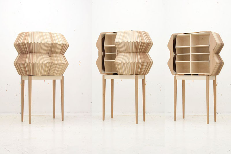 Accordion Cabinet by Elisa Strozyk and Sebastian Need 1
