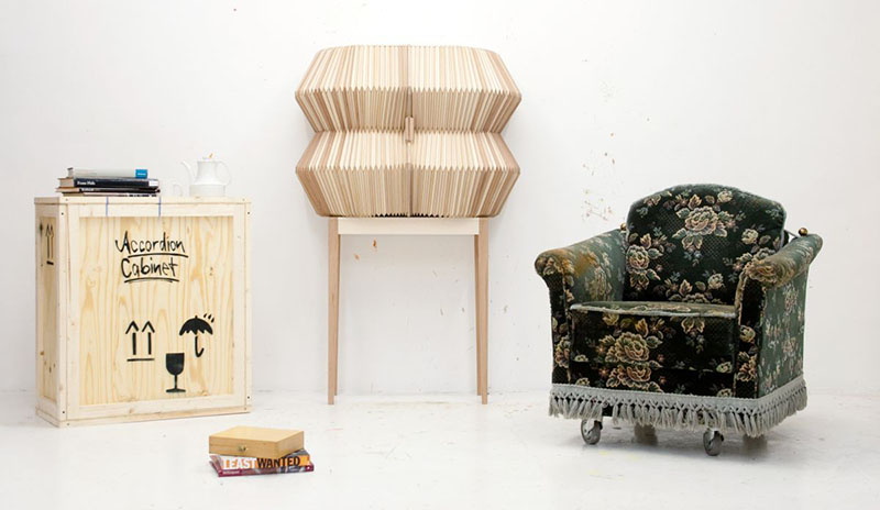 Accordion Cabinet by Elisa Strozyk and Sebastian Need 3