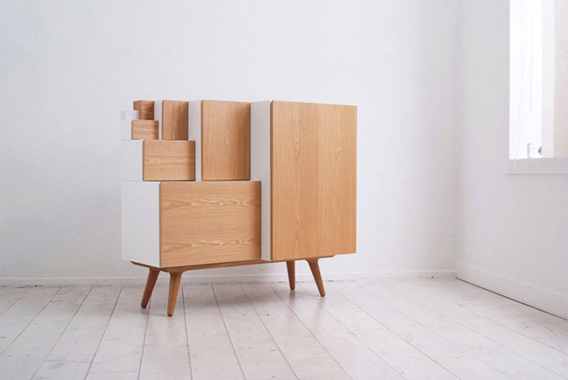 Multipurpose Storage System An Furniture By KAMKAM