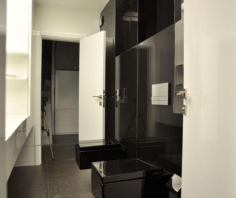 Modern Apartment bathroom interior by Jovo Bozhinovski