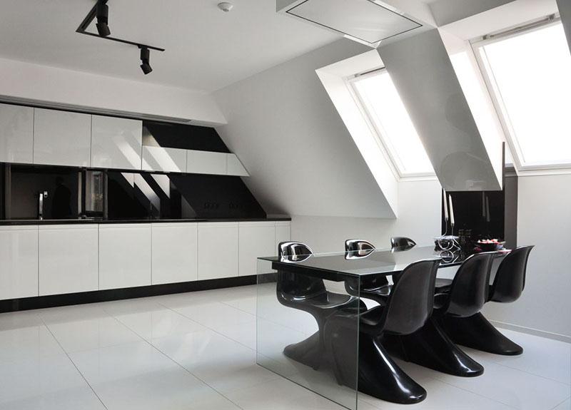Modern Apartment kitchen interior by Jovo Bozhinovski