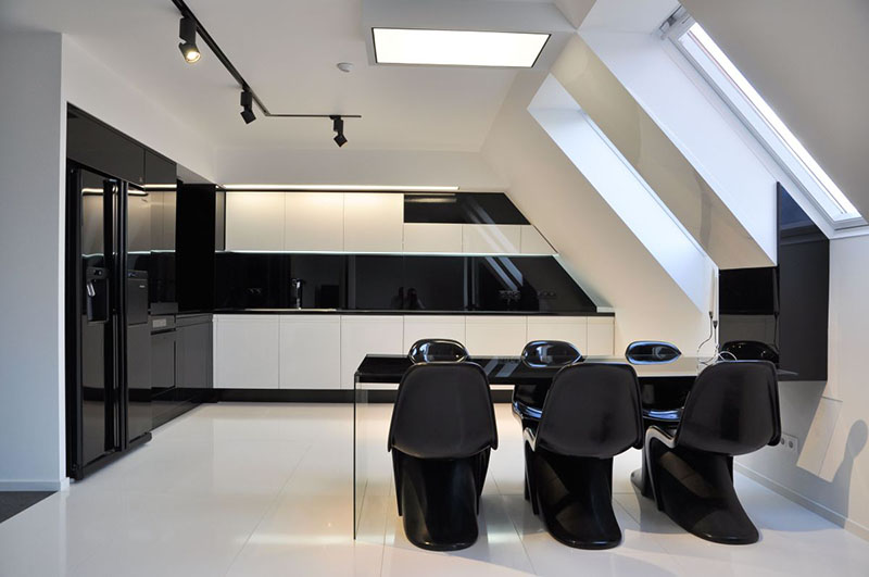 Modern Apartment dining table by Jovo Bozhinovski