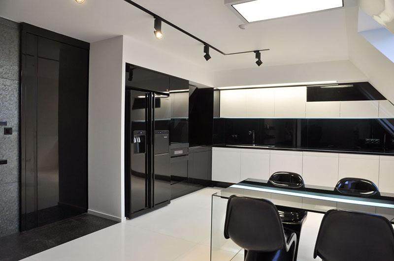 Modern Apartment dining room interior by Jovo Bozhinovski