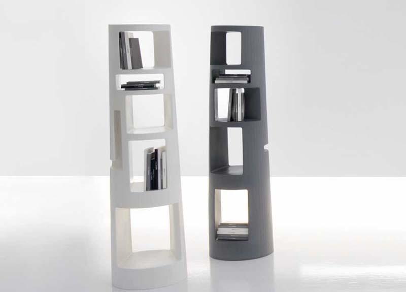 Babel bookshelf by Mario Mazzer for Bonaldo
