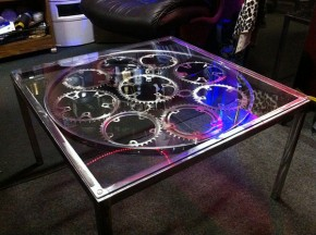 Bike Chain Ring Coffee Table By Del Cruiser