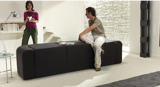 Cafe and Leche multifunction sofa by Ebuala 3