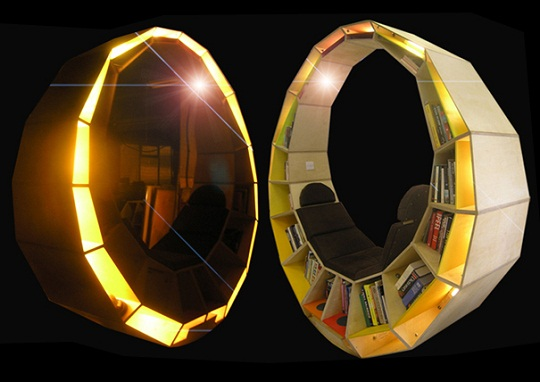 Circular Long Form Library 3