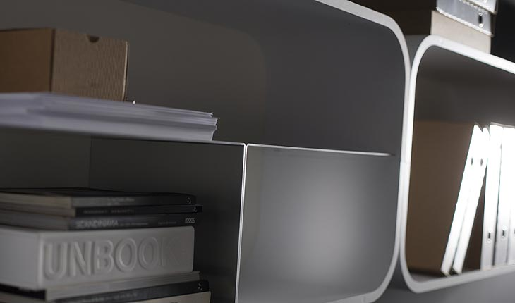 Cocoon Storage Shelf System by Ideal Form Team 14