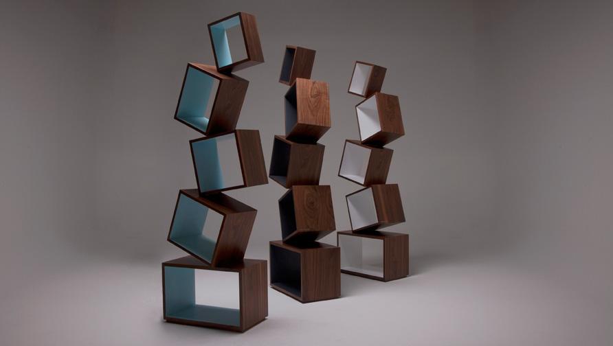 Equilibrium Bookcase Malagana Design 2