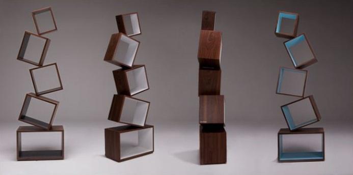 Equilibrium Bookcase Malagana Design 4