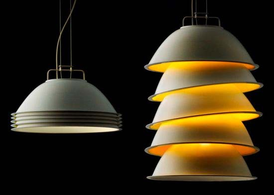 Five Pack suspended lamp 1