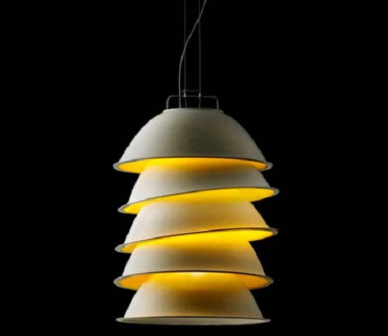 Five Pack suspended lamp 2