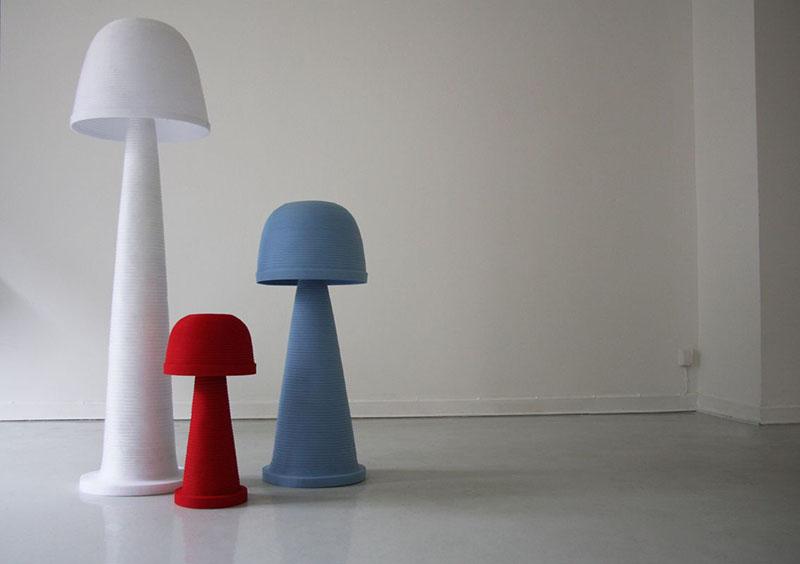 Fungi Lamp by Andreas Kowalewski 1