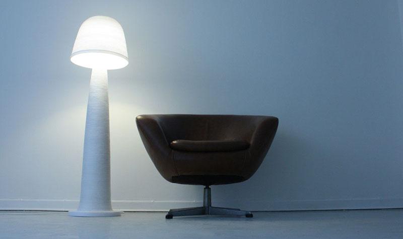Fungi Lamp by Andreas Kowalewski 5